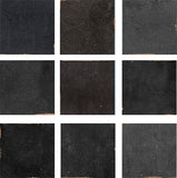 Mestizaje Zellige 5 x 5 Ceramic Tiles - Graphite Decor