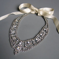 Je T'Aime Rhinestone Necklace