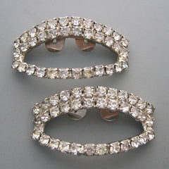 Holly - Vintage Rhinestone Shoe Clips