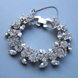 Haley - Vintage Floral Winter Bracelet