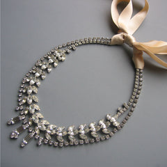 Je T'Aime Rhinestone Necklace No. 2