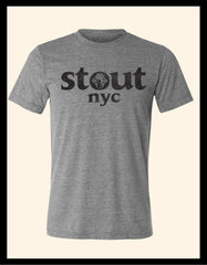 Knot Knockout ~ Dark Heather Grey Tee