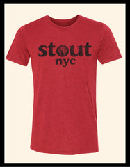 Knot Knockout ~ Red Heather Tee