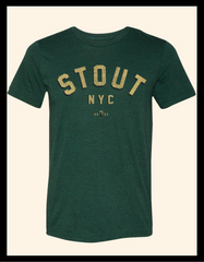 Varsity Arch ~ Forest Green Short Sleeve Tee