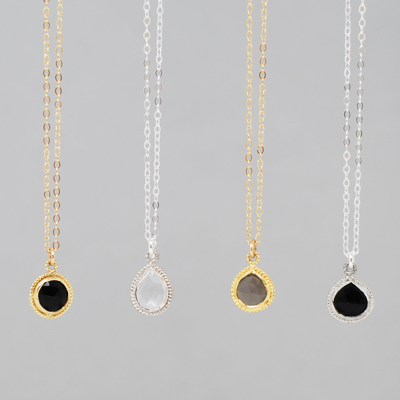 Petite Gemstone Necklaces