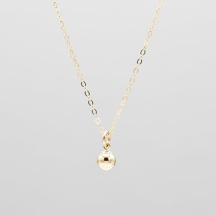 Goldfill Ball Necklace