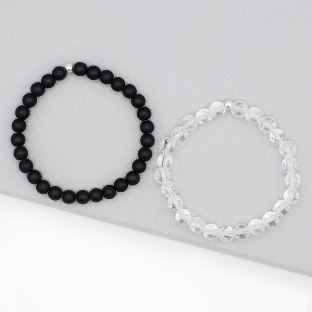 6mm Beaded Gemstone Bracelet