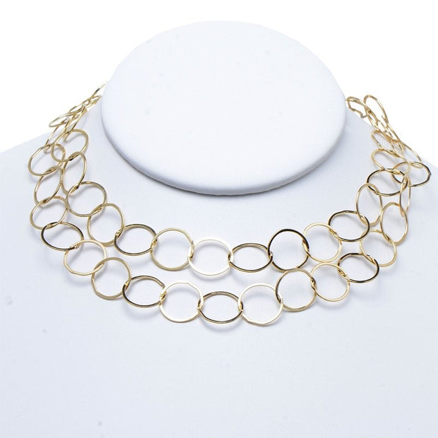13mm Goldfill Long Chain
