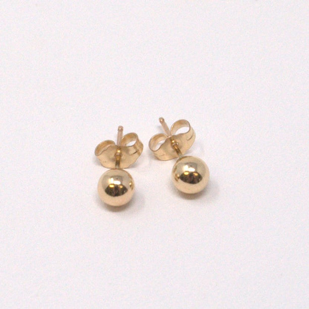Goldfill Post Earrings