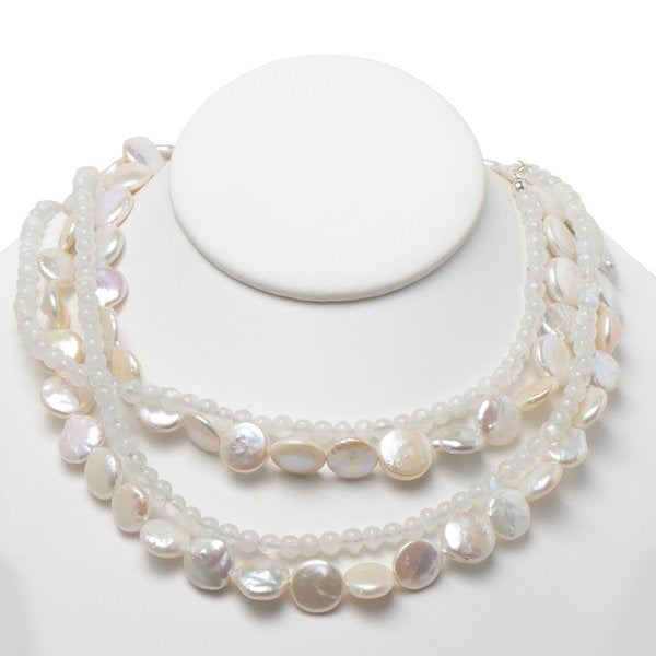 Moonstone Necklet