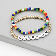 Mantra 'Carry On' Goldfill Bracelet