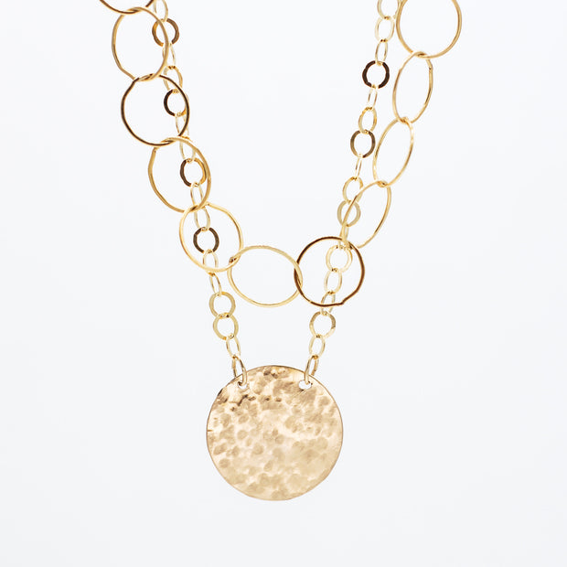14K Goldfill Necklace Layering Set