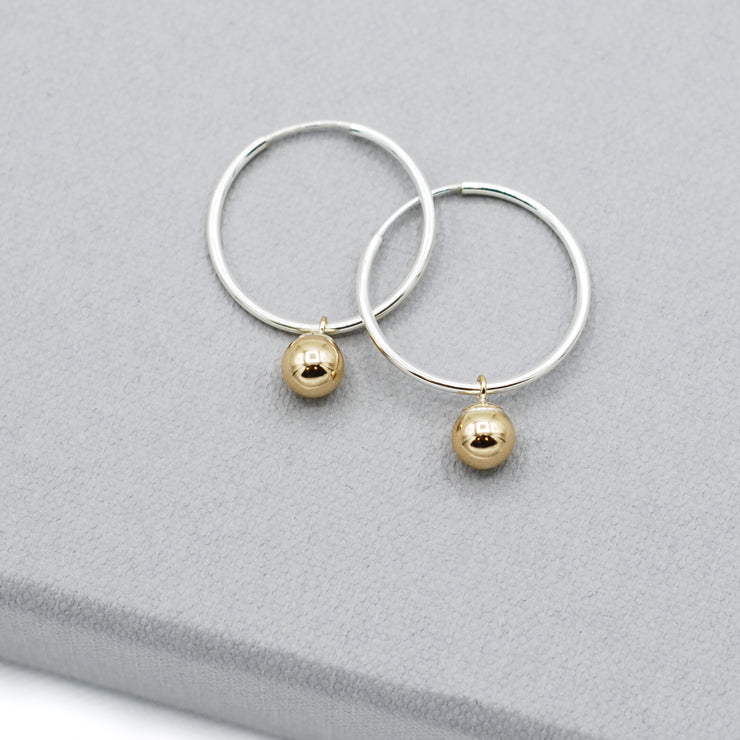 Goldfill Ball Hoop Drops