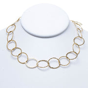 17mm Goldfill 16-30 Inch Hammered Chain