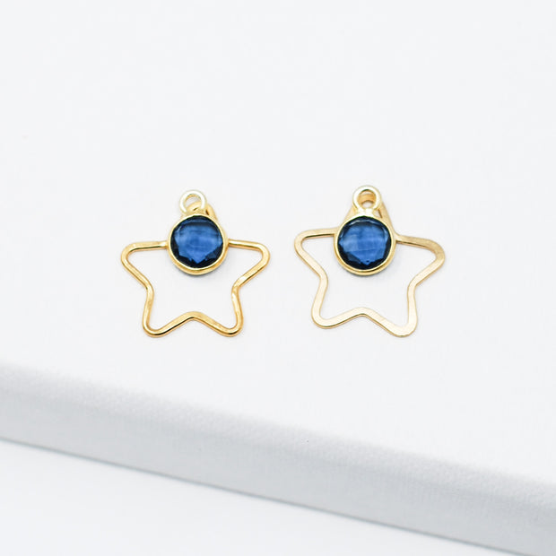 Star & Gemstone Drop Set