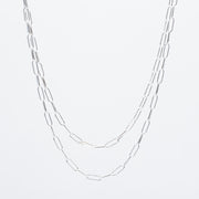 Sterling Silver Medium Long Chain