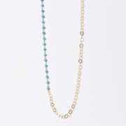 Turquoise & Goldfill Necklace