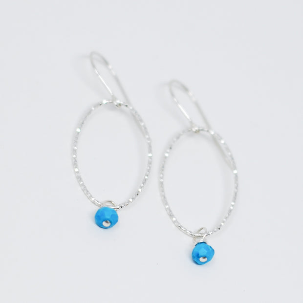 Sterling Silver & Turquoise Earrings