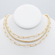 Goldfill Beaded Necklace