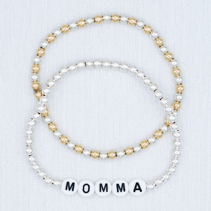 Name It 'Momma' Bracelet Set