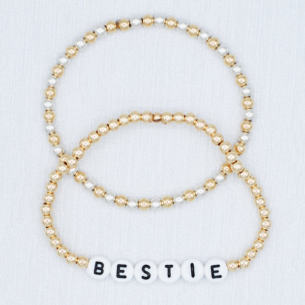 Name It 'Bestie' Bracelet Set