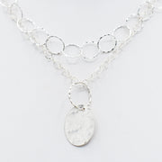 Sterling Silver Layering Necklace Set