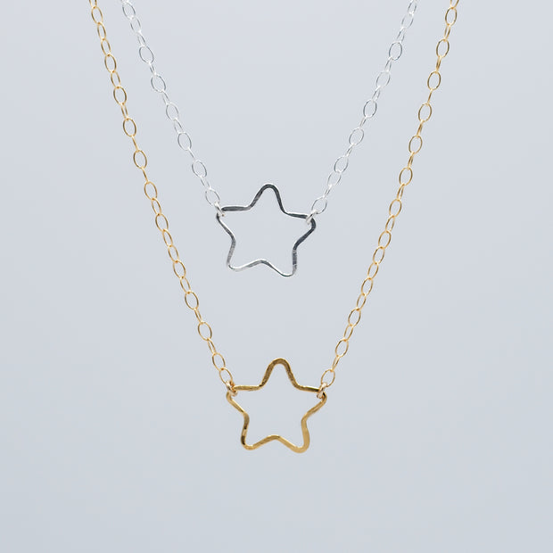 Goldfill Star Necklace