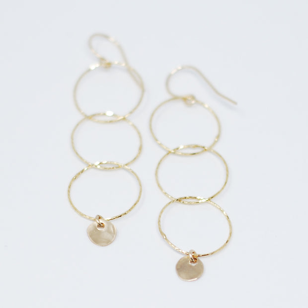 Vermeil Link Earrings