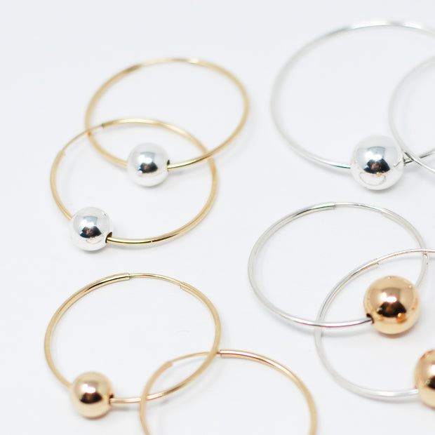 Hoops & Beaded Lux Drops