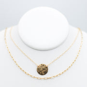 Goldfill Small Paper Clip Chain & Necklace Layering Set