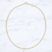 3mm & 4mm 14k Goldfill Beaded Necklace