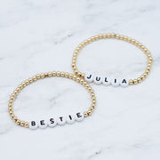 Name It 'Bestie' Goldfill Bracelet