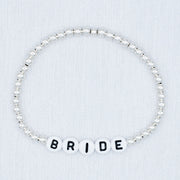 Name It 'Bride' Sterling Silver Bracelet