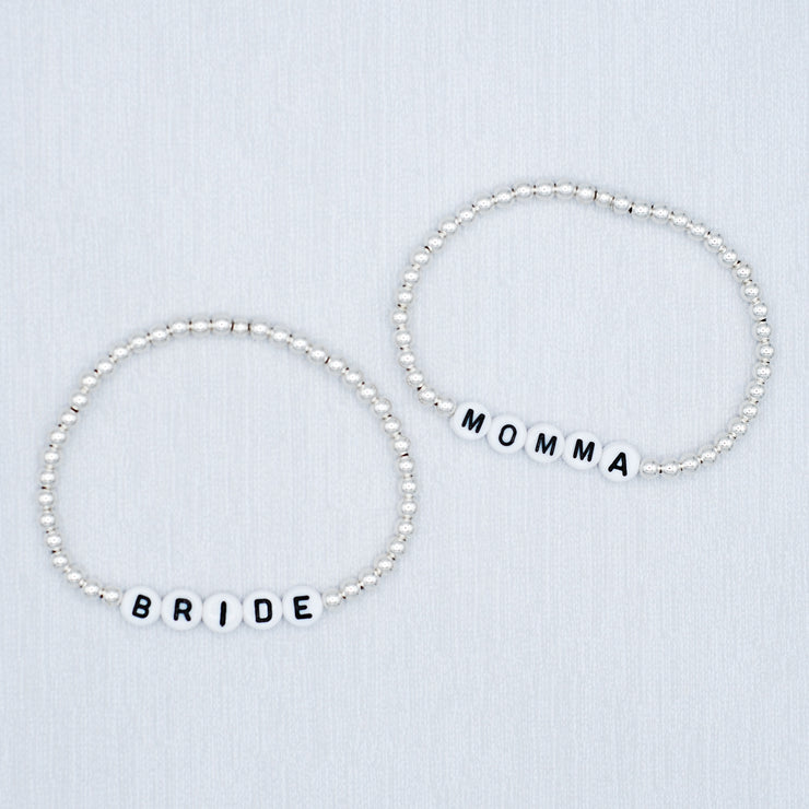 Name It 'Momma' Sterling Silver Bracelet