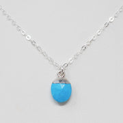Turquoise & Sterling Silver Necklace