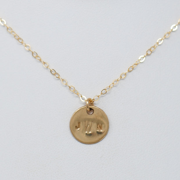 Monogram Petite Necklace