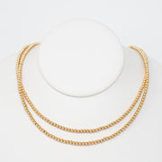 Goldfill Beaded Wrap Necklace