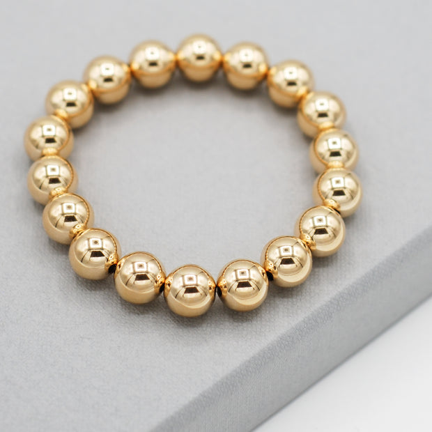 Goldfill Beaded Bracelet