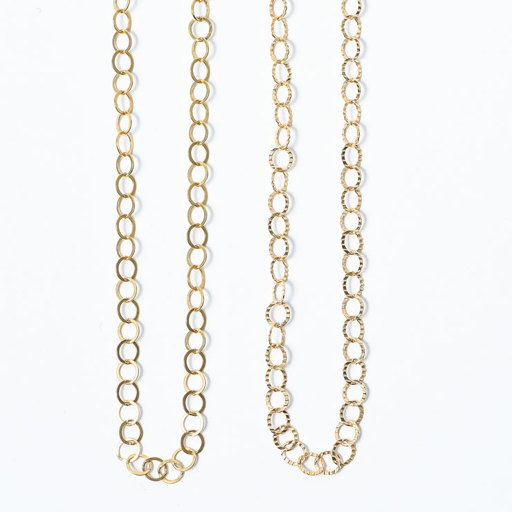 3mm Goldfill Long Chain