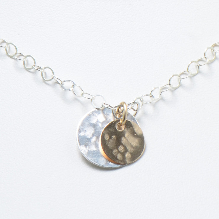 Goldfill & Sterling Silver Necklace