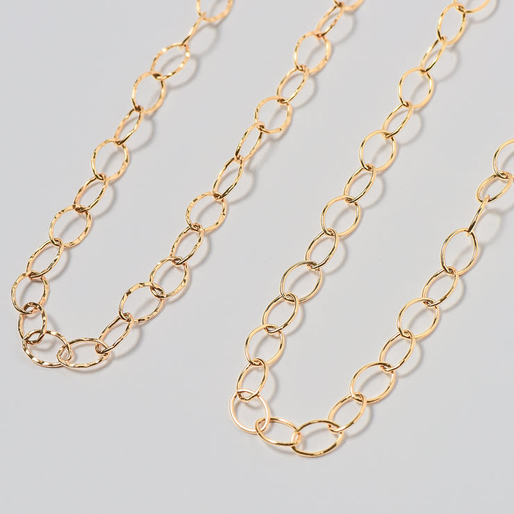 Goldfill Oval Long Chain