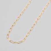Goldfill Paperclip Long Chain