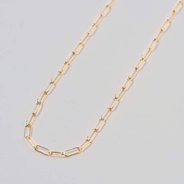 Goldfill Paper Clip Long Chain