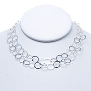 10mm Sterling Silver Long Chain