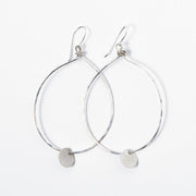 Sterling Silver Hand Shaped Earrings