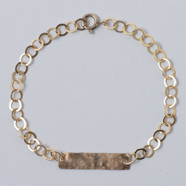 Goldfill Bar Bracelet