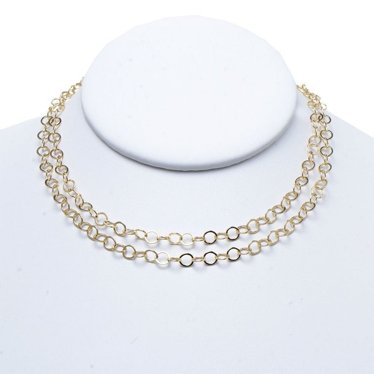 5mm Goldfill Long Chain