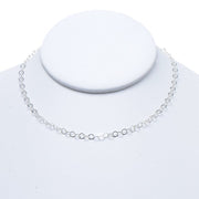 3mm Sterling Silver 16-30 Inch Chain