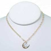 Sterling Silver & Goldfill Necklace