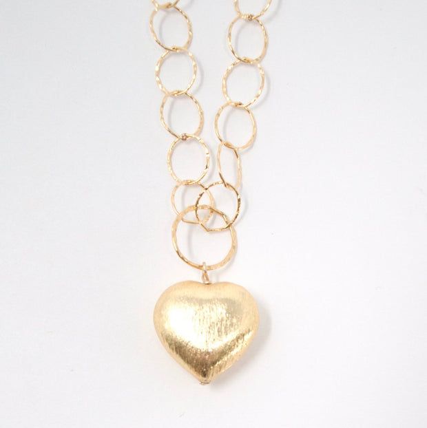 Goldfill Heart Necklace